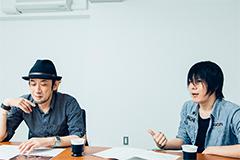 左から西原誠、吉田健児。