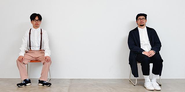 """左から浜野謙太、サイトウ""""JxJx""""ジュン。"""