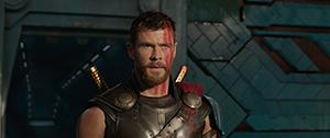 「マイティ・ソー バトルロイヤル」より、クリス・ヘムズワース演じるソー。
