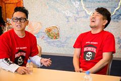 左から宮川大輔、FUJIWARA藤本。