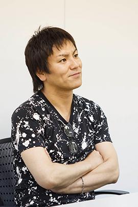 「ドキュメンタル」を語る狩野英孝。