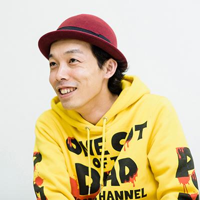 「ドキュメンタル」について語る上田慎一郎。