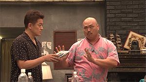 「ドキュメンタル」シーズン4より、スピードワゴン井戸田(左)と安田大サーカス・クロちゃん(右)。
