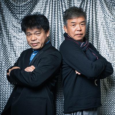 「ドキュメンタル」シーズン6を振り返る村上ショージ(右)とジミー大西(左)。