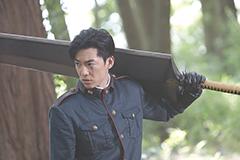 大東駿介演じる犲の副隊長・鷹峯誠一郎。