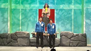 DVD「エレ片 新コントの人」よりコント「はじまり」のワンシーン。