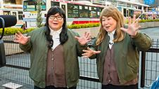 エンディングは吉祥寺駅のロータリーで撮影。