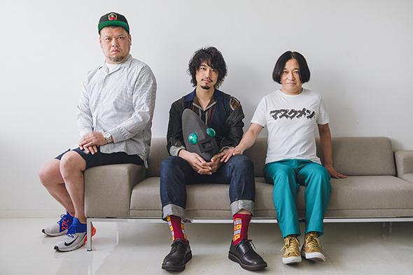 左から野性爆弾くっきー、斎藤工、永野。