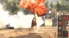 「地獄街道」に仕掛けられた爆破。