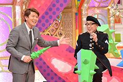(左から)ヒロミ、テリー伊藤。© 中京テレビ