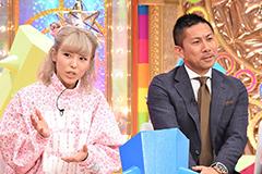 (左から)若槻千夏、前園真聖。© 中京テレビ