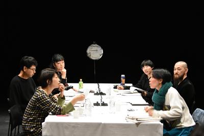 第18回AAF戯曲賞 公開最終審査会の様子。