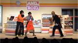 「鈴村健一の超・超人タイツ ジャイアント ~ついにスケジュールがあいました 2012・秋~」より。©︎超・超人タイツ ジャイアント製作委員会