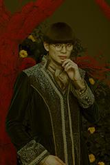 「ミュージカル『マリーゴールド』TRUMPシリーズ10th ANNIVERSARY」より、東啓介演じるコリウスのビジュアル。