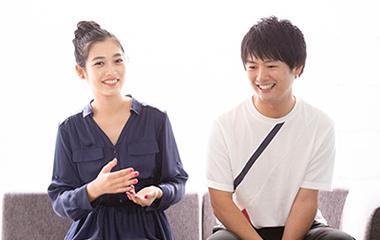 左から林田岬優、吉木遼。