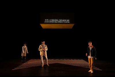 現代演劇シリーズ― 岡田利規演出「三月の5日間」リクリエーション ©KOS-CREA / 写真提供:国際交流基金