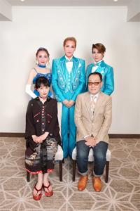 上段左から舞美りら、桐生麻耶、楊琳、下段左から横山智佐、広井王子。