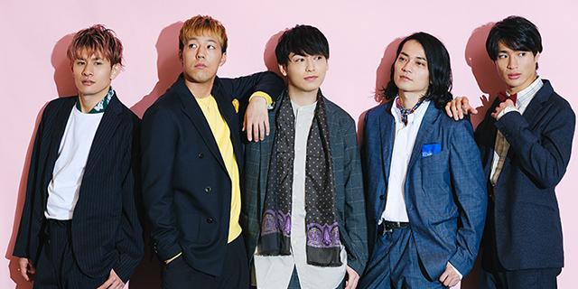 左からToyotaka(Beat Buddy Boi)、世界(EXILE / FANTASTICS from EXILE TRIBE)、川原一馬、荒木健太朗、平野泰新(MAG!C☆PRINCE)。