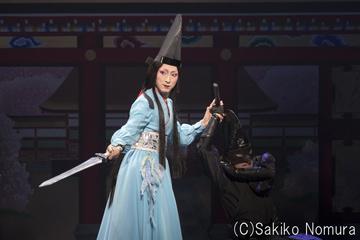 シネマ歌舞伎「阿弖流為」より。中村七之助演じる鈴鹿。