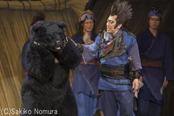 シネマ歌舞伎「阿弖流為」より。片岡亀蔵演じる蛮甲。