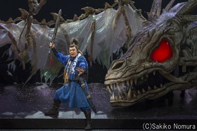 シネマ歌舞伎「阿弖流為」より。松本幸四郎演じる阿弖流為。