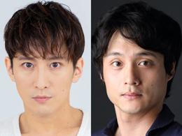 「タージマハルの衛兵」(日本初演)出演者。左から成河、亀田佳明。