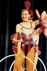 初舞台「セロ弾きのゴーシュ」(1996年)での高世麻央。
