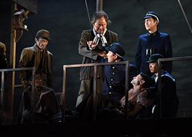 「最貧前線」神奈川公演より、ゲネプロの様子。