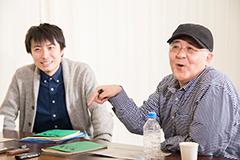 左より中屋敷法仁、鈴木聡。