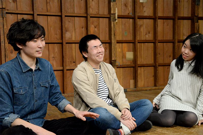 左から葛山陽平、小松亮太、江澤蛍。