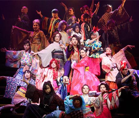 少年社中15周年記念第3弾・第28回公演「贋作・好色一代男」より。