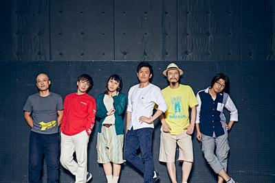左から川本裕之、長谷川太郎、加藤良子、井俣太良、岩田有民、廿浦裕介。
