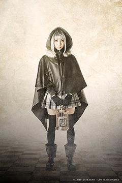 青野紗穂扮するグレイ。