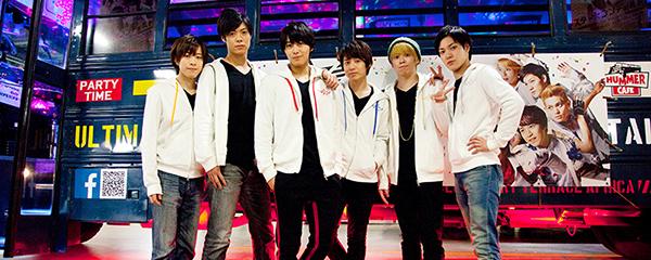 左から鈴木祐士郎、鷹松宏一、猪野広樹、鎌苅健太、古川龍慶、桐矢彰吏。