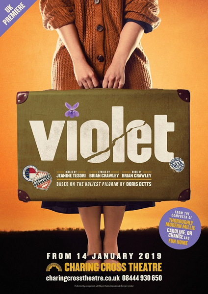 梅田芸術劇場×チャリングクロス劇場 日英共同プロジェクト ミュージカル「VIOLET」